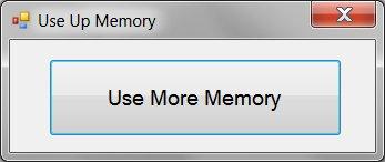 Use More Memory!